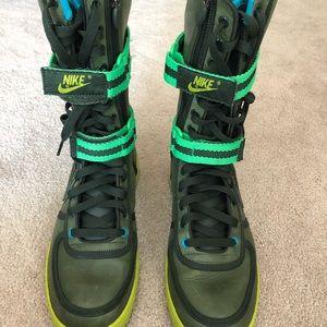 Nike calf high tops